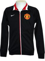 Jaqueta Masc. Manchester United Nike Preta