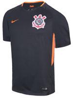 Camisa Jogo 3 Corinthians Nike 17/18 Cinza