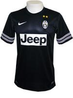 Camisa Jogo 2 Juventus Nike 2013 Preta