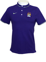 Camisa Polo League Manchester City Nike Roxa