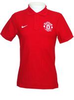 Camisa Polo Core 2014 Manchester United Vermelha