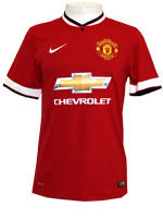 Camisa Jogo 1 Manchester United Nike 2015 Vermelha