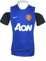 Camisa Treino Manchester United 2014 Nike Azul
