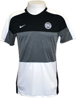 Camisa Masculina MC 2 Nike Total 90 Preta/Cinza