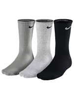 Kit 3 Pares Meia Nike Cush Crew