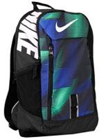 Mochila Nike Alph Print Marinho e Verde