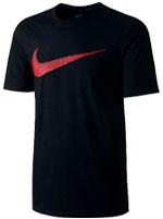 Camisa Nike Hangtag Swoosh Preta