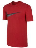 Camisa Nike Hangtag Swoosh Vermelha