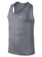 Camiseta Nike Miler Tank Dry Cinza