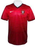 Camisa Jogo 1 Portugal Nike 2014 Vermelha