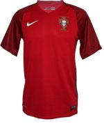 Camisa de Jogo Portugal Nike 2016 Vermelha