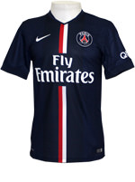 Camisa 1 Paris Saint-Germain Nike 2015 Marinho