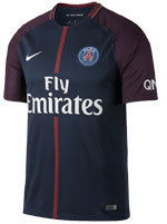 Camisa 1 Paris Saint-Germain Nike 17/18 Marinho