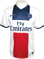 Camisa 2 Paris Saint-Germain Nike 2014 Branca