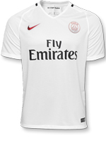 Camisa 3 Paris Saint-Germain Nike 16/17 Branca