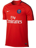 Camisa Squad Paris Saint-Germain Vermelha