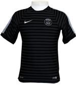 Camisa Treino Paris Saint-Germain 2015 Nike Preta