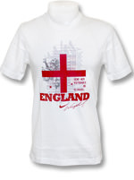 Camisa Hero Inglaterra Rooney Nike Branca