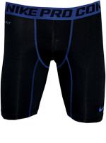 Short Nike de Compressão Preto/Azul
