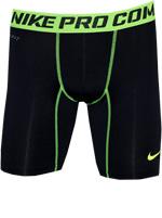 Short Nike de Compressão Preto/Verde