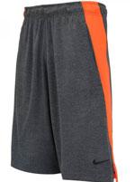 Short Nike Dry Fly 9IN Cinza e Laranja