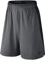 Short Nike Dry Fly 9IN Cinza e Preto