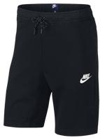 Bermuda Nike Sportswear Moletom Preta