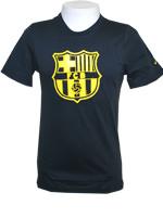 Camisa Passeio Barcelona Nike Preta