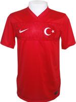 Camisa Jogo 1 Turquia Nike 2014 Vermelha