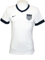 Camisa Estados Unidos Supporters Nike Branca