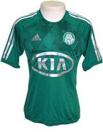 Camisa Jogo 1 Palmeiras Adidas 2012 Verde