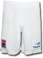Calção Jogo Paraná Clube 2016 Topper Branco