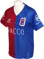 Camisa Paraná Clube Fem 2016 Topper Azul e Verm