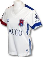 Camisa Jogo 2 Paraná Clube Fem 2016 Topper Branca