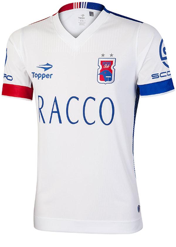 f5db137c566 Camisa Jogo 2 Paraná Clube 2016 Topper Branca