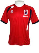 Camisa Viagem Paran� Clube 2014 Errea Vermelha