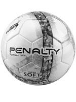 Bola de Futsal Ultra Fusion Penalty Branca e Preta