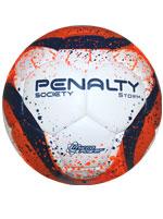 Bola de Futebol Society Storm Penalty Laranja