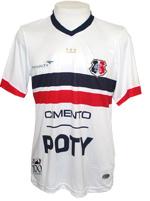 Camisa Jogo 2 Santa Cruz Penalty 2014 Branca