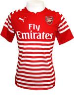 Camisa de Aquecimento 14/15 Arsenal Puma Vermelha