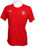 Camisa de Concentração Arsenal Puma - Vermelha