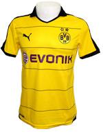 Camisa de Jogo Borussia Dortmund 2015 Puma Amarela