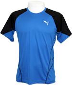 Camisa Puma Cool Nov Tee Azul/Preta
