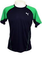 Camisa Puma Cool Nov Tee Marinho/Verde