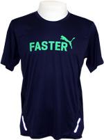 Camisa Puma Graphic Faster Marinho/Verde