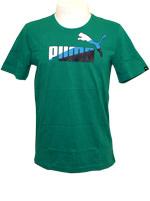 Camisa Puma Graphic Tee Verde