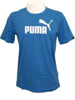 Camisa Puma Logo Tee Azul