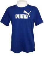Camisa Puma Logo Tee Azul Escuro