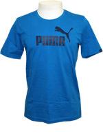 Camisa Puma Logo Tee Azul Royal