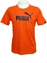 Camisa Puma Logo Tee Laranja